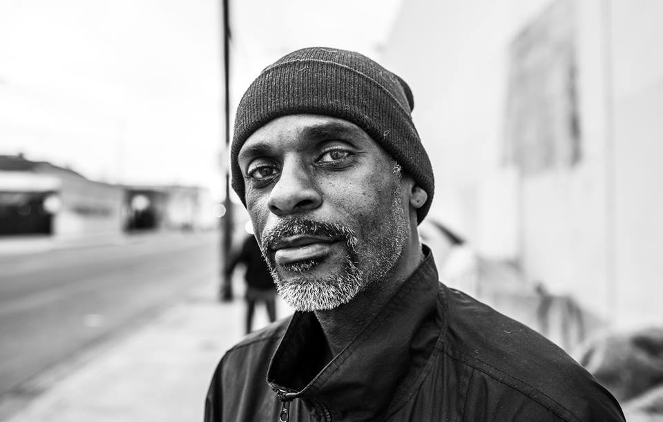 """Being on the streets is like a spiritual boot camp for me."""